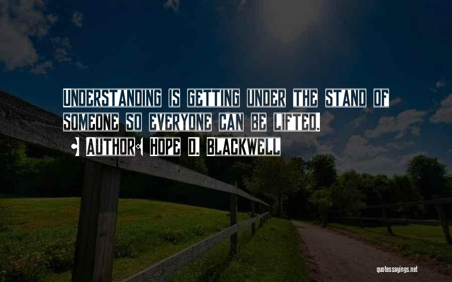 Hope D. Blackwell Quotes 1274088