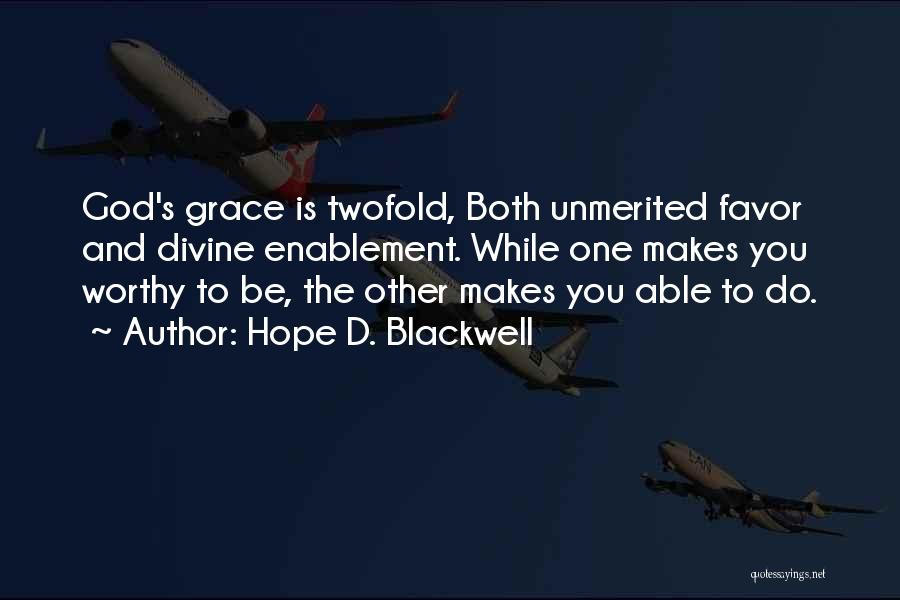 Hope D. Blackwell Quotes 1758598