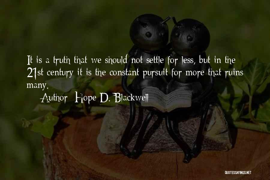 Hope D. Blackwell Quotes 2010604