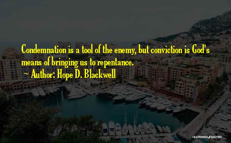 Hope D. Blackwell Quotes 2153297