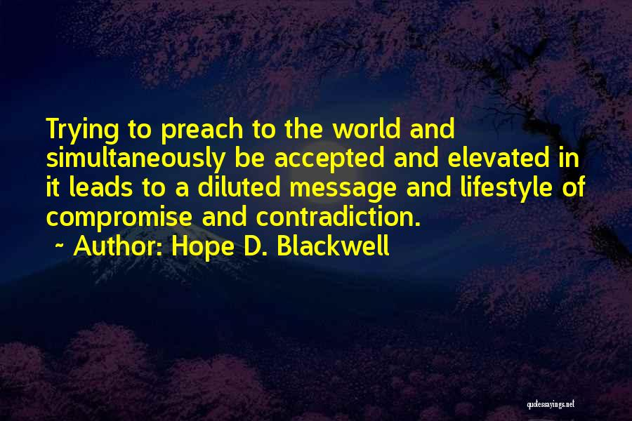 Hope D. Blackwell Quotes 329663