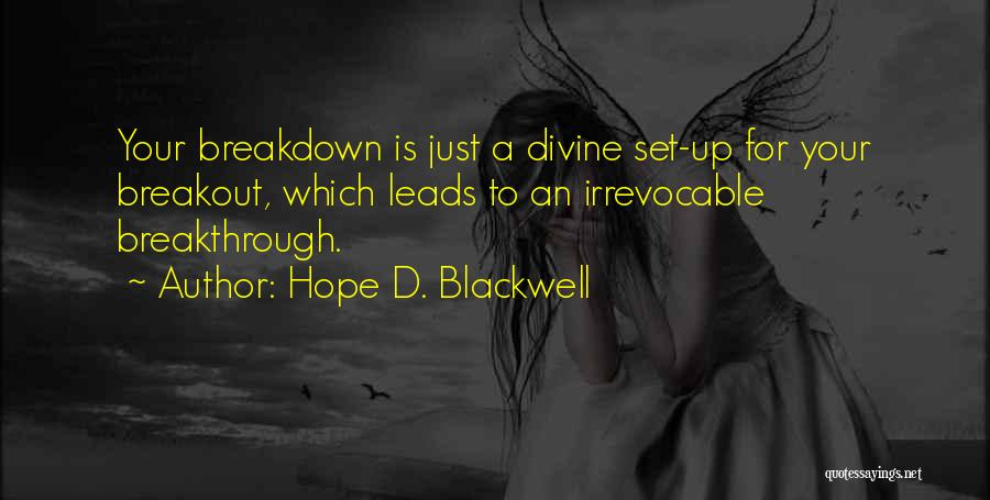 Hope D. Blackwell Quotes 388983