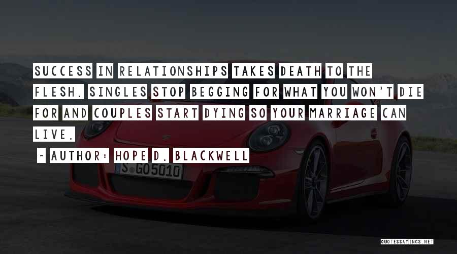 Hope D. Blackwell Quotes 395564