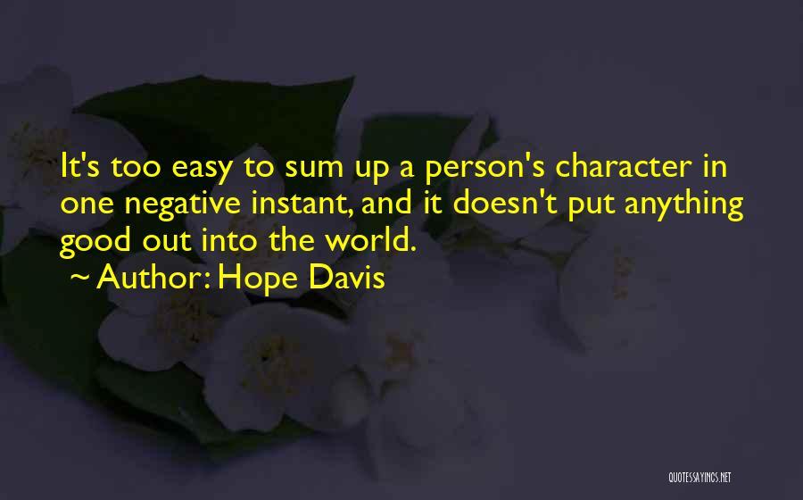 Hope Davis Quotes 1558254