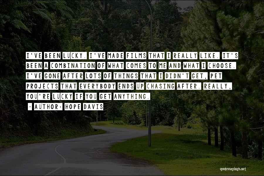 Hope Davis Quotes 588181