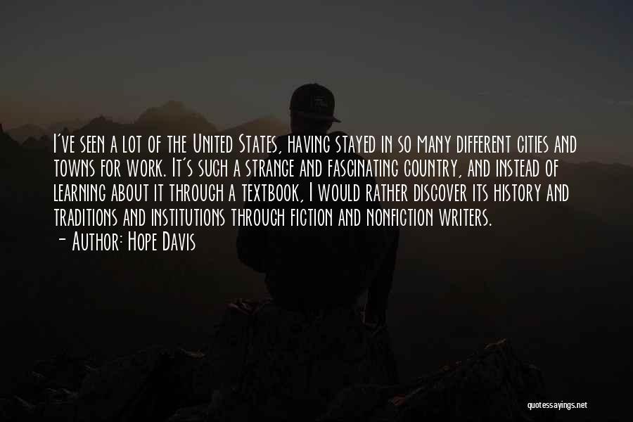Hope Davis Quotes 881543