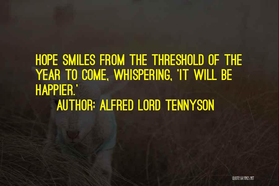 Hope For The New Year Quotes By Alfred Lord Tennyson