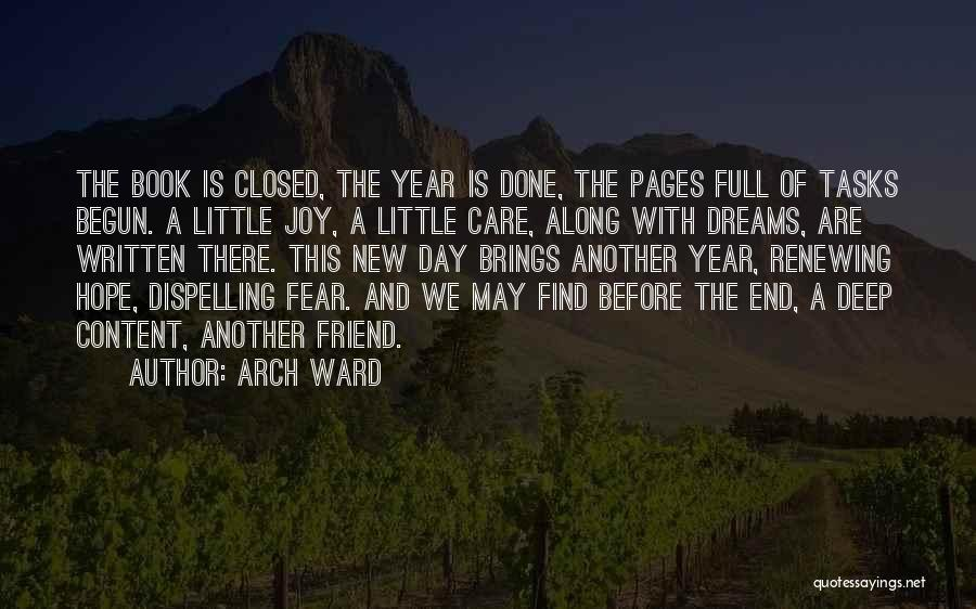 Hope For The New Year Quotes By Arch Ward