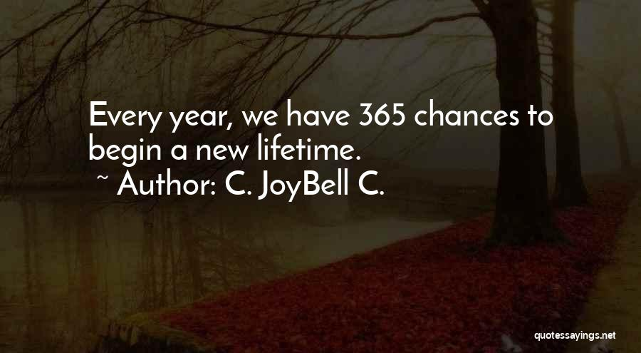 Hope For The New Year Quotes By C. JoyBell C.