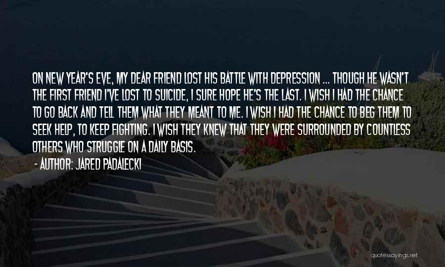 Hope For The New Year Quotes By Jared Padalecki