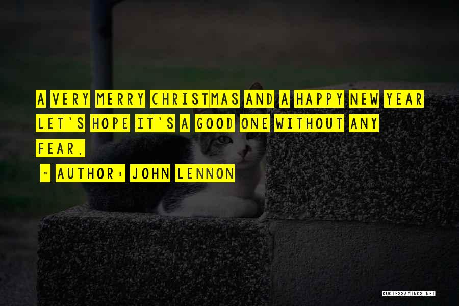 Hope For The New Year Quotes By John Lennon
