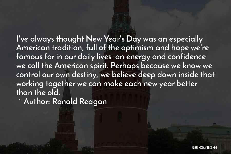 Hope For The New Year Quotes By Ronald Reagan