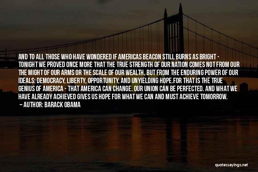 Hope For Tomorrow Quotes By Barack Obama