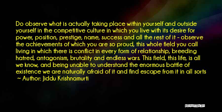 Hope For Tomorrow Quotes By Jiddu Krishnamurti