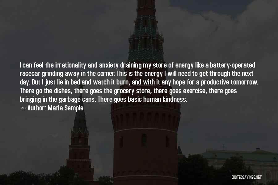 Hope For Tomorrow Quotes By Maria Semple
