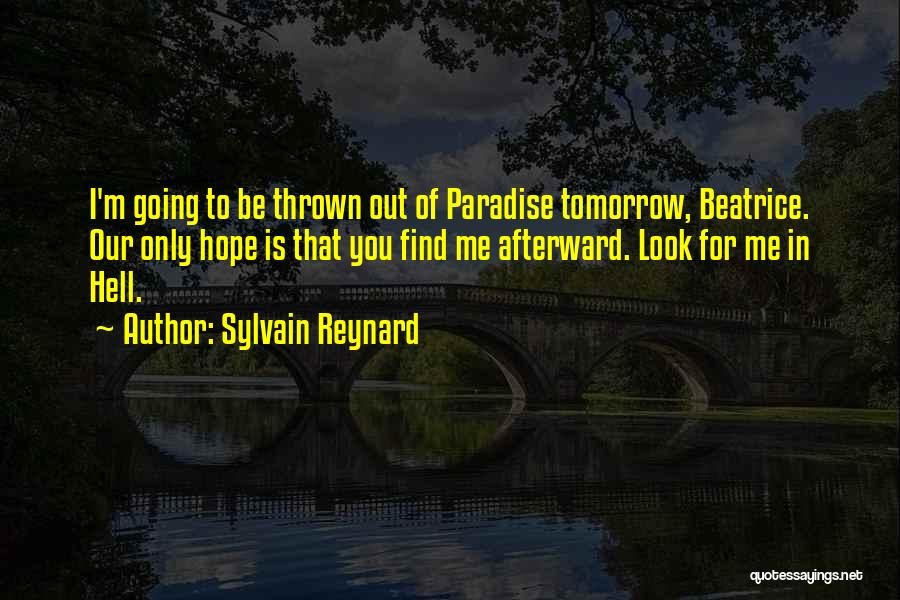 Hope For Tomorrow Quotes By Sylvain Reynard