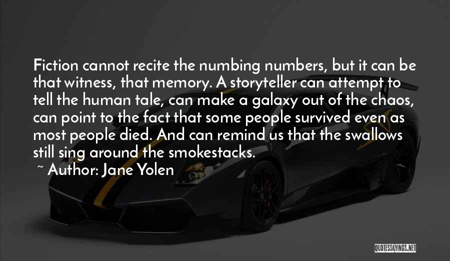 Hope In The Holocaust Quotes By Jane Yolen