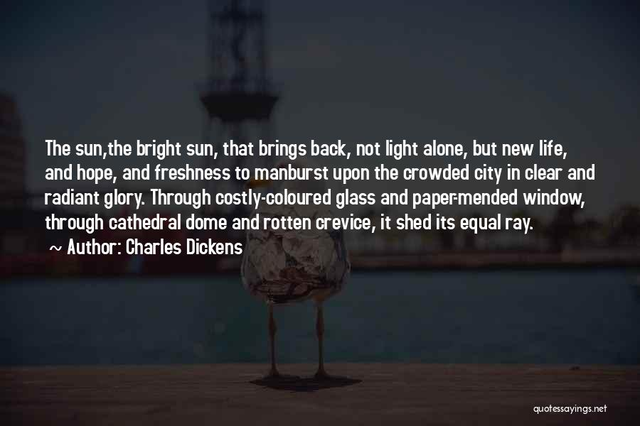 Hope New Life Quotes By Charles Dickens