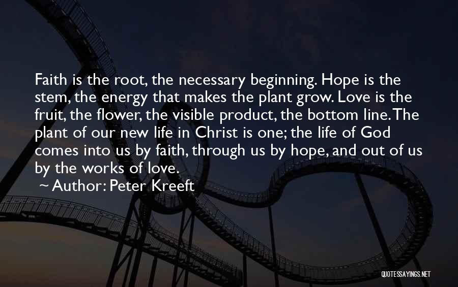 Hope New Life Quotes By Peter Kreeft