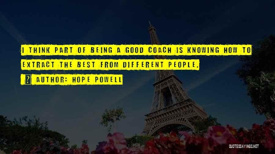 Hope Powell Quotes 1532011