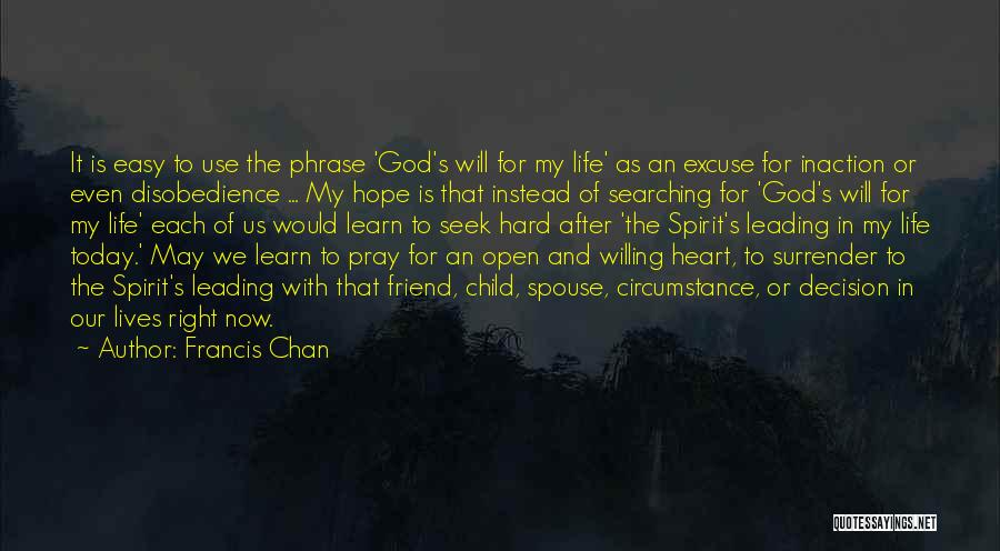 Hope With God Quotes By Francis Chan