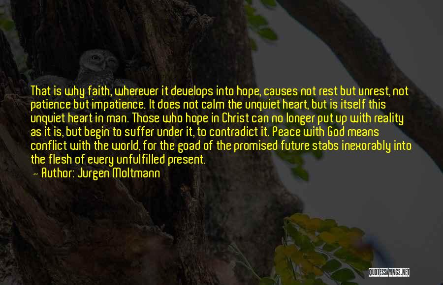 Hope With God Quotes By Jurgen Moltmann