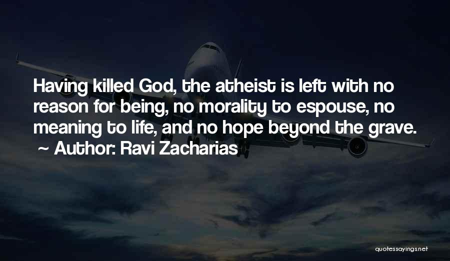 Hope With God Quotes By Ravi Zacharias