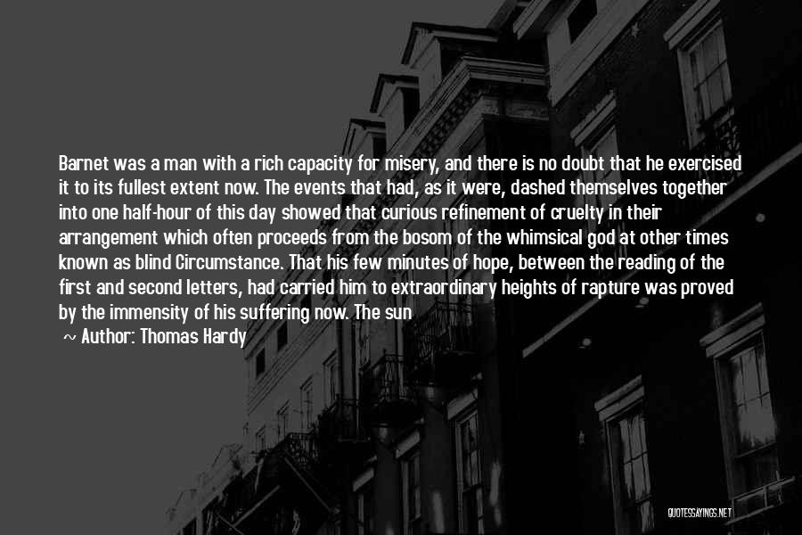 Hope With God Quotes By Thomas Hardy