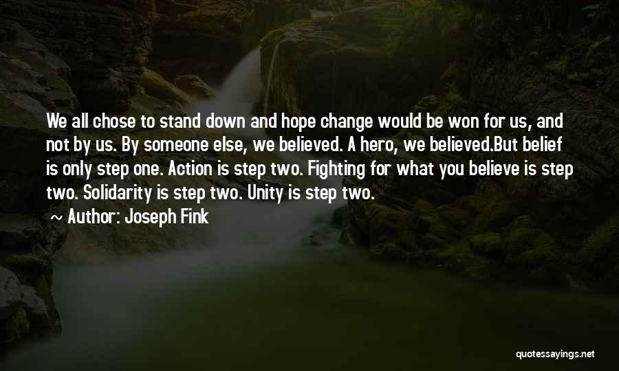 Hope You Change Quotes By Joseph Fink