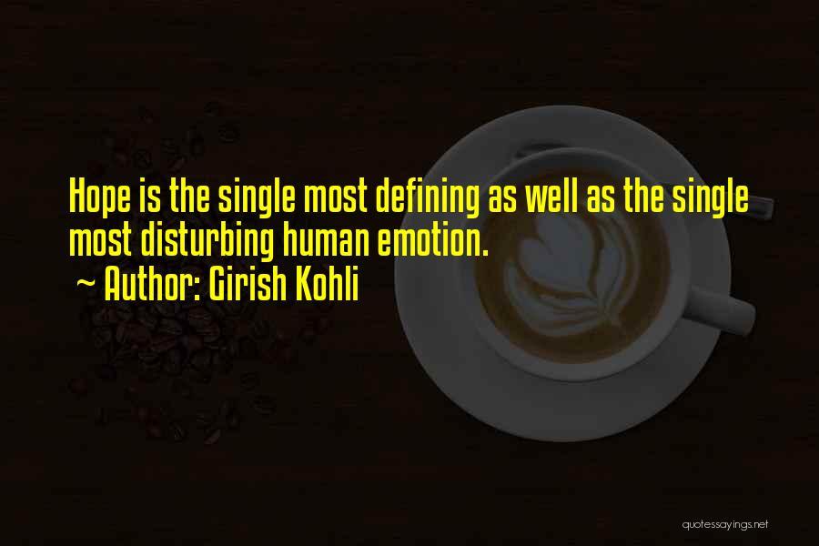 Hope You're Ok Quotes By Girish Kohli