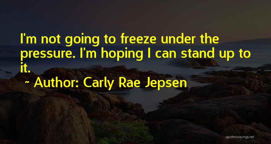 Hoping For The Best For Someone Quotes By Carly Rae Jepsen