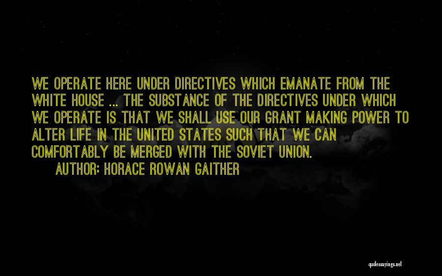 Horace Rowan Gaither Quotes 338943