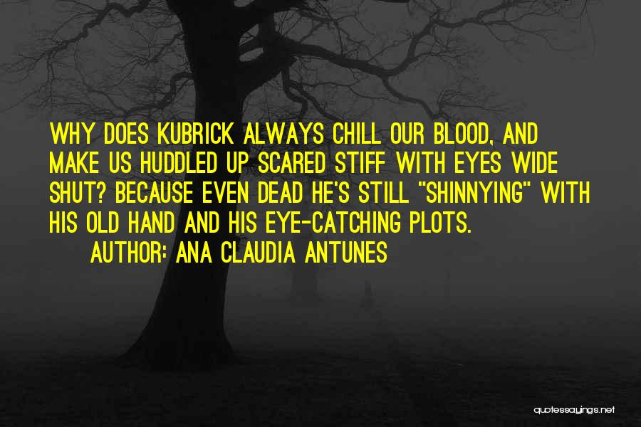 Horror Quotes By Ana Claudia Antunes