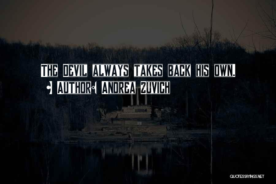 Horror Quotes By Andrea Zuvich