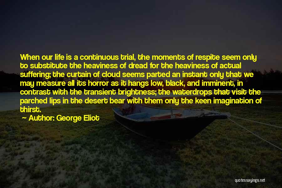 Horror Quotes By George Eliot