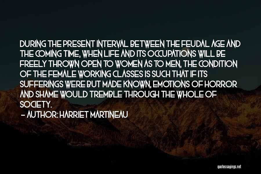 Horror Quotes By Harriet Martineau
