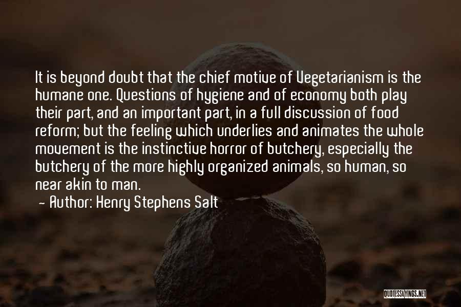 Horror Quotes By Henry Stephens Salt