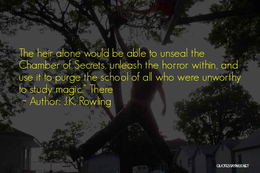 Horror Quotes By J.K. Rowling