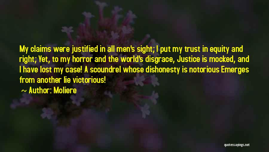 Horror Quotes By Moliere