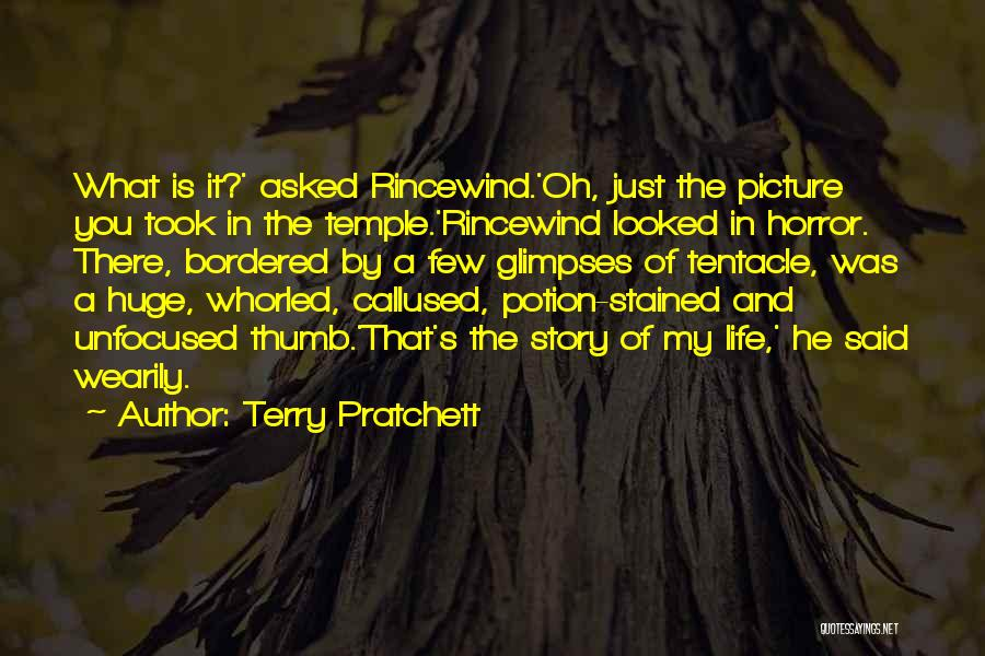 Horror Quotes By Terry Pratchett