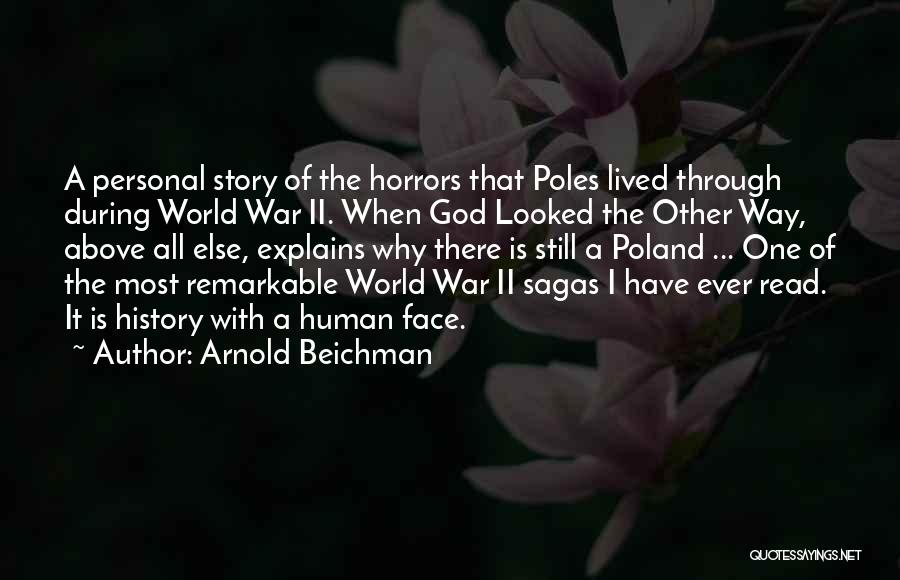 Horrors Of War Quotes By Arnold Beichman