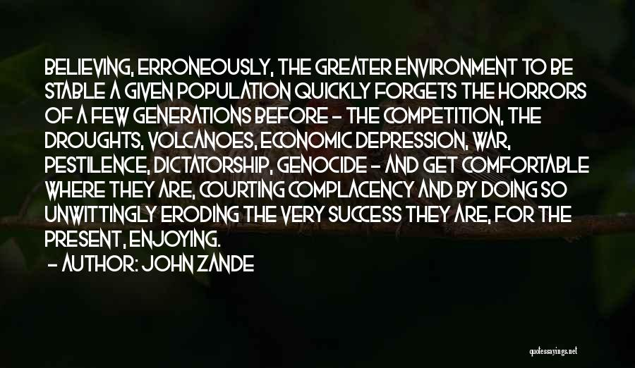 Horrors Of War Quotes By John Zande