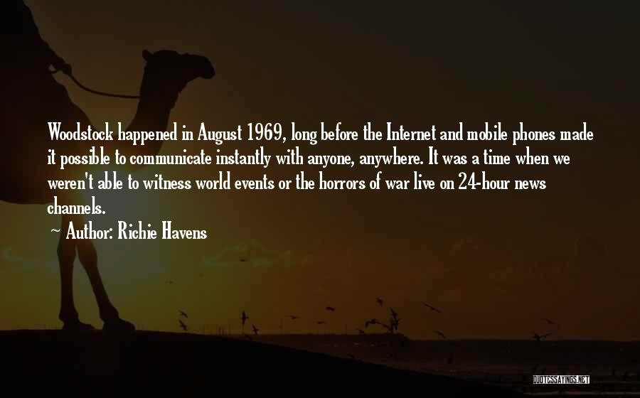 Horrors Of War Quotes By Richie Havens