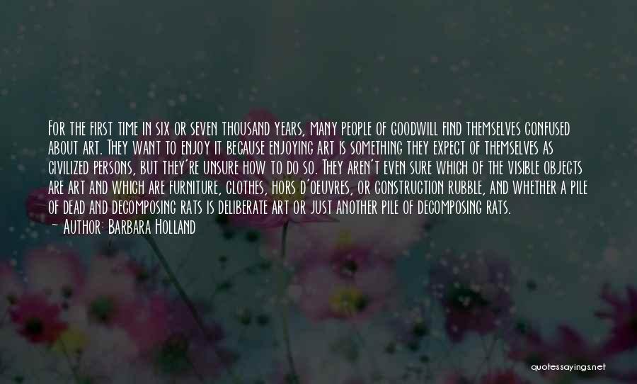 Hors D'oeuvre Quotes By Barbara Holland