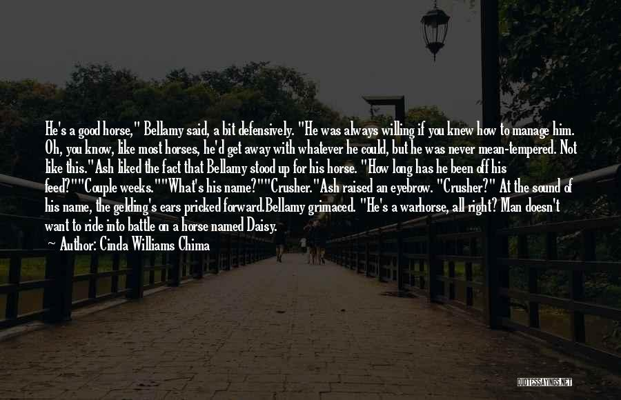 Horse Feed Quotes By Cinda Williams Chima