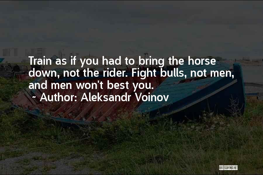 Horse Rider Quotes By Aleksandr Voinov