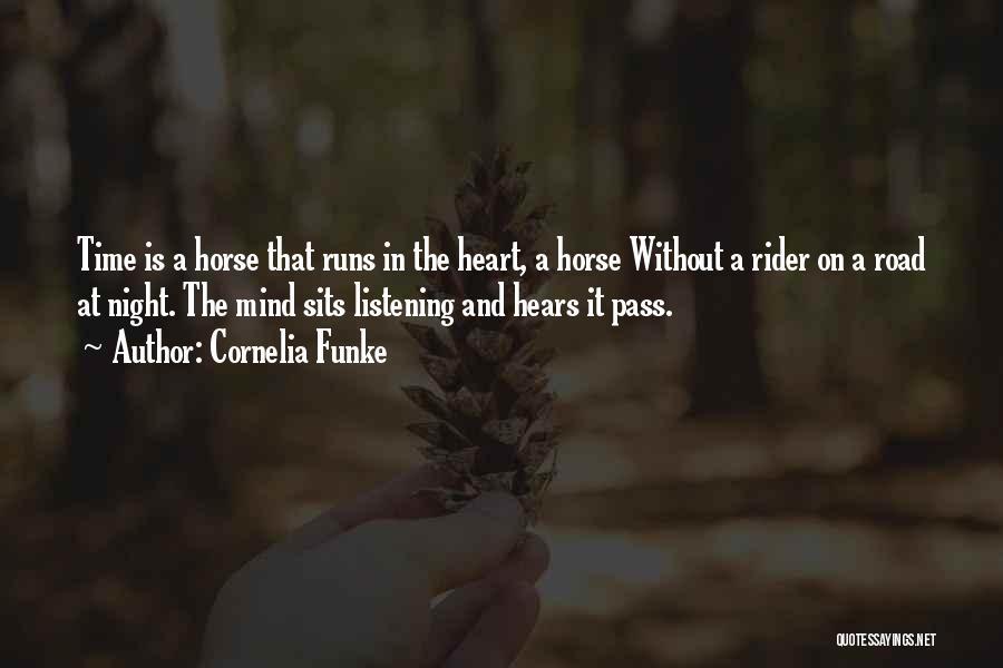 Horse Rider Quotes By Cornelia Funke