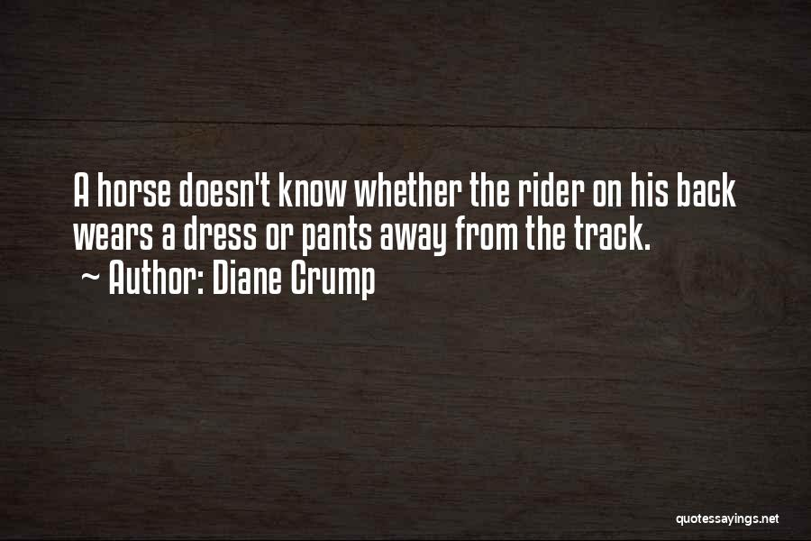Horse Rider Quotes By Diane Crump