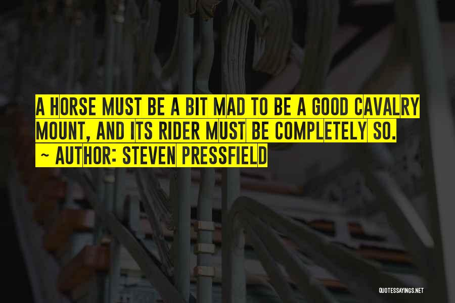 Horse Rider Quotes By Steven Pressfield