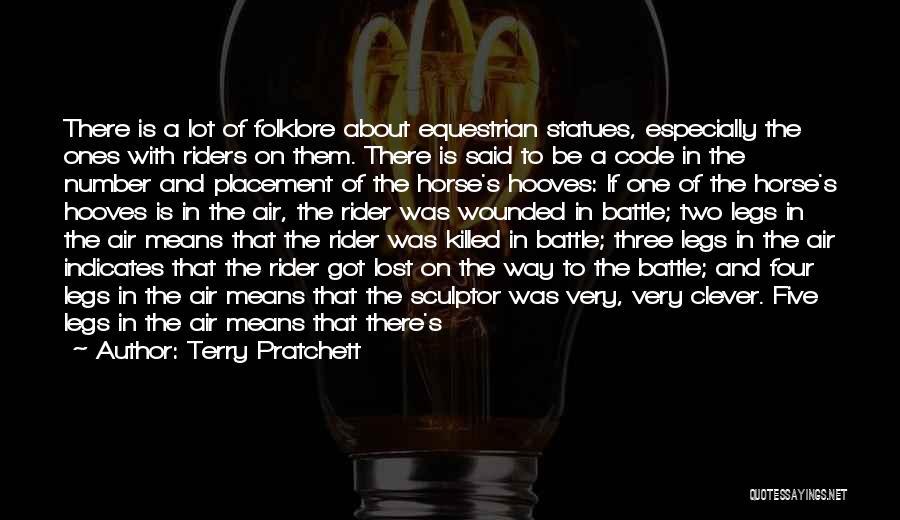 Horse Rider Quotes By Terry Pratchett